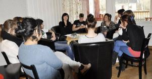 Sexuella relationer var ett ämne som många ville diskutera vid ungdomskonventet.
