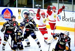 Borlänge Hockey kom på skam, förlust 3–5, i senaste derbyt hemma mot Hedemora. Dags för omvänd ordning möjligen i Bolidenhallen i kväll?
