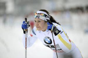 ... Och hon möter då bland andra längdspecialisten Britta Johansson Norgren.