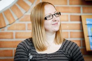 Johanna Anderson konstaterar att jobbmässan är lika viktig för både arbetsgivare och arbetssökande.