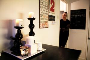 Catharina älskar att pyssla och dekorera sitt hem.