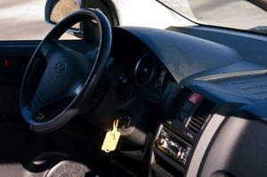 Hyundai Getz ligger ganska bra på vägen, men kan ibland upplevas som skumpig och hoppig.Foto: Tomas Hägg