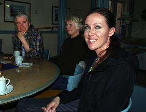 Morabor. Rebecka Farhang, Thomas Karlsson och Eva Mellerot har nyss bosatt sig i Mora.