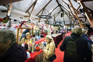 Att gå på Taxinge julmarknad har blivit en tradition för många, berättar Stefan Hofsten.