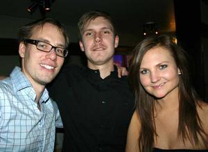 Blue Moon Bar. Erik, Johan och Alva