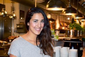 Såma Mirza Di Paolo har arbetat med att utveckla Veggoköket sedan våren 2015. I augusti i år förverkligade hon sin dröm: attöppna en restaurang.