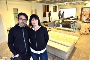 I slutet av maj hoppas Levent Coban och Maria Olsson öppna den nya restaurangen.