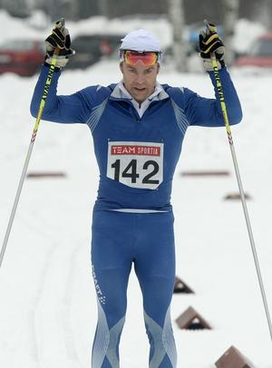 John Lagerskog IFK Arvidsjaur skidor vann 40 km