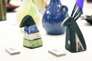 Nya figuriner, Minihästar från Lulux Keramik, 320 kronor.