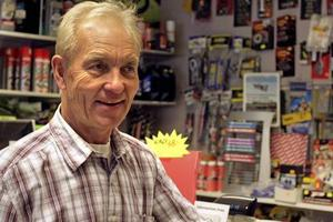 Rolf Bernhardson på Örebro MC-service är en hängiven motorcykelfantast. BILD: STEFAN HAZIANASTASIOU