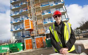 Tord Andnor, styrelseordförande för Östersundshem, tror inte att hyresgästerna kommer att påverkas i någon större utsträckning av att byggnaden saknar hiss.