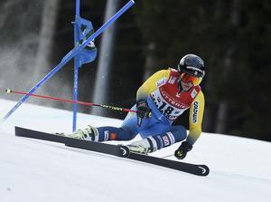 Kajsa Kling slutade på 20:e plats.