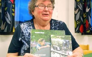"""Laila Axelsson är ordförande i DHR:s Avesta Hedemora-förening. """"Vi jobbar för att ge handikappade samma möjligheter som andra"""". I slutet av oktober deltog hon i DHR:s förbundsmöte i Stockholm. Foto: Eva Langefalk/DT"""