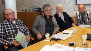 Bosse Andersson, Hela Sverige ska leva, Håkan Larsson, Föreningen Sveriges Vattenkraftskommuner, Ronny Svensson, SmåKom, och Ulf Björklund, Inlandskommunerna Ekonomisk Förening, hoppas att deras samarbete ska leda till att en större press sätts på statsmakterna.