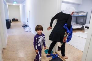 Efter 28 dagar kom familjen fram till Sverige, där pappa Walid väntade.
