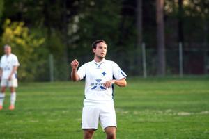 Dynamo Moskvas bandyspelare Vadim Arkhipkin gjorde säsongsdebut i Bergvik.