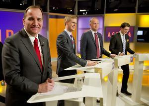 Underhållande debatt. I går var det dags för partiledardebatt i SVT:s Agenda. En på det hela taget underhållande historia, med fokus på bland annat jobbfrågan och den svenska skolan.