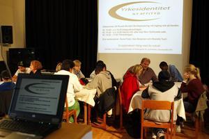 Många åsikter och idéer fick plats i Solhuset när rundabordssamtal ordnades under onsdagen.