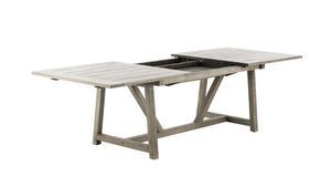 Ett rejält bord kan behövas till den stora familjen. Det kommer från Sika Design och finns bland annat på Dennys Home för från 15995 kronor.