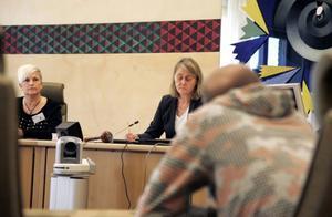 Domstolssekreteraren Helena Rask var i rättegångsspelet ensam av tre nämndemän som ville döma