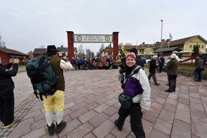 Berit Djuse från Malung kommer att vandra och dokumentera vandringen.