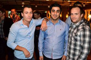 Mencus Gecaj, Mazlom Dogan och Ardian Gecaj.