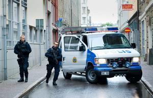 Säkerheten var hög under rättegången mot spelkungen Rade Kotur 2008.