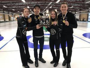 Isabella Wranå, Patric Mabergs, Sofia Mabergs och Johannes Patz blev svenska mästare i Östersund.