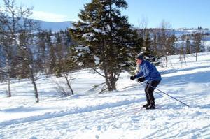 Från i vinter måste längdåkare betala för att använda längdspåren i Årebjörnen, Duved och Ullådalen. Fast i Ullådalen, där bilden är tagen, får man åka 300 meter gratis om man ska på tur.