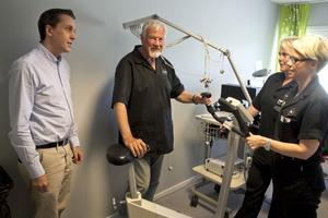 Christos Milonas, Kurt Trosell, Maria Berglund, och Lisa Forslund har pratat med många patienter som är arga och ledsna över nedläggningen av hjärtmottagningen på E-center.