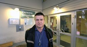 FÅR INGEN BONUS. Bo Österholm, verksamhetschef på Stigslunds äldreboende som drivs av Carema, konstaterar att bristerna som beskrivs i rapporteringen om Caremas boenden i Stockholm är främmande för verksamheten i Stigslund.