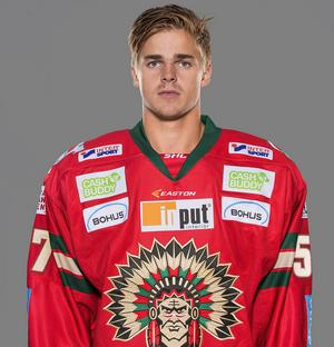 Emil Djuse har drabbats av en hjärnskakning.