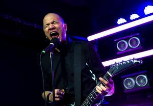 Danko Jones är ett populärt liveband, 2015 spelade de på ett fullpackat Liljan i Borlänge inför extatisk publik.