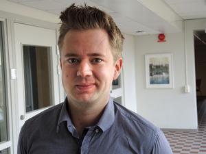 Jonas Fellström konstaterar att Borlänge har fler personer i arbetsför ålder än andra kommuner i länet.
