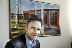Lars Åsberg, vd på Bollnäs bostäder.