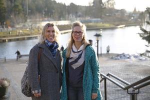 Ulrika Askelöf och Anna Jensen är mitt uppe i rekryteringen av doulor som ska göra graviditet och förlossning tryggare för utlandsfödda kvinnor.