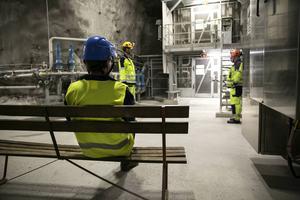 Märklig känsla att besöka den automatiserade gruvan där man knappt ser någon jobba