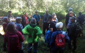 Besökare från Falun, Leksand och Rättvik har besökt Lungsjöån. Foto: Annika Varghans