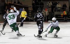Erik Pettersson har gjort 30 mål när halva serien spelats.