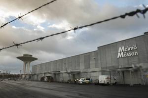 Mässan utanför Malmö är inrättad som en stor vänthall dit de flesta av de som söker asyl hamnar i väntan på registrering hos Migrationsverket.