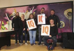 Arbetet för ungdomar i Söderhamn ger resultat. Från vänster: Johnny Norberg, Anne Lindberg, Yvonne Kristiansson, Niclas Olsson, Oskar Nilsson och Marcus Wågström.