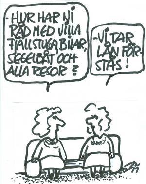 COW:s kommentar till lån – tidigare publicerad på VLT:s insändarsida.