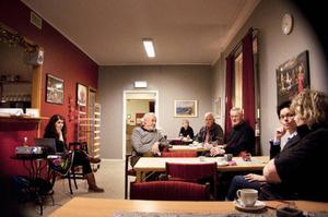 Flera av dem som samlats i Folkets hus har tips att dela med sig av, om platser och byggnader runt om i Härjedalen, som de tycker ska finnas med i ett kulturmiljöprogram.