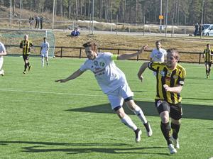 Tobias Stenberg missar derbyt mot Anundsjö på fredag.