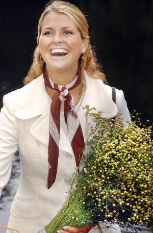 2004 besökte prinsessan Madeleine Växbo Kvarn. Humöret var på topp.