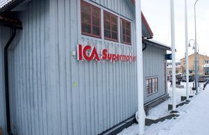 Ica supermarket Funäsdalen.