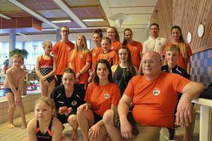 I Nora SS simmar cirka 150 barn och ungdomar aktivt. På söndagens Utmanaren deltog 33 stycken.