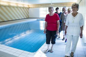 Badföreningen hoppas snart komma i gång med sin verksamhet.