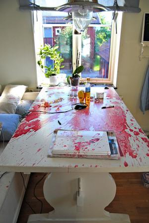 Explosion. Foto: Sofia Wike