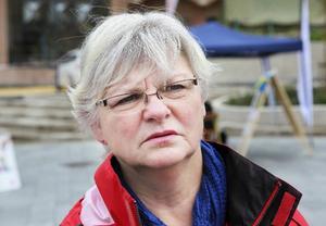 Monica Jonsson, Stugun:– Jag har inte följt debatten så noga, men i år har vi också bara två partier och då kommer inte ideologin fram.